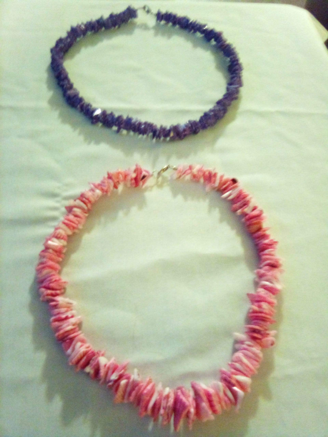 Two large pucca shell necklaces - B&P'sringsnthings