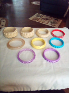 Unusual bracelet lot - B&P'sringsnthings