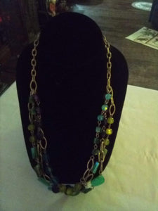 Unusual dressy necklace - B&P'sringsnthings