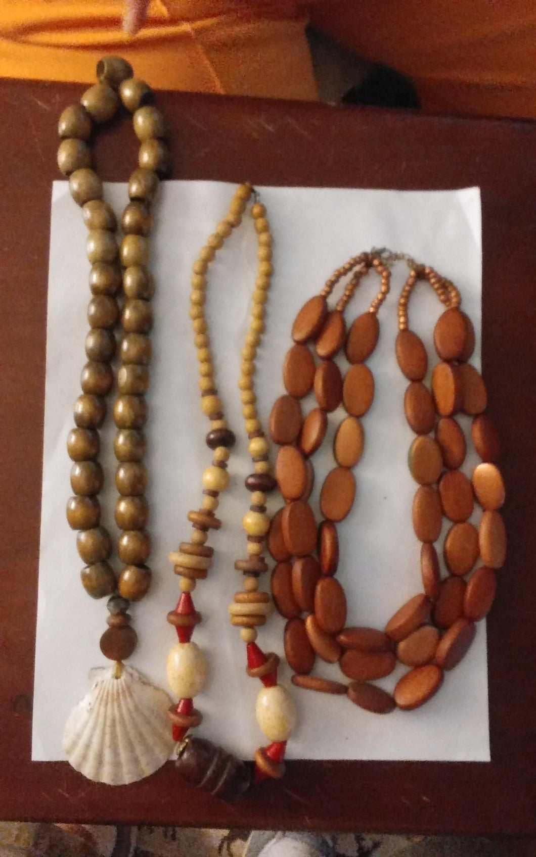 Wooden necklace lot - B&P'sringsnthings