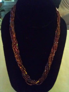 Multi layered dressy necklace with tiny pieces - B&P'sringsnthings