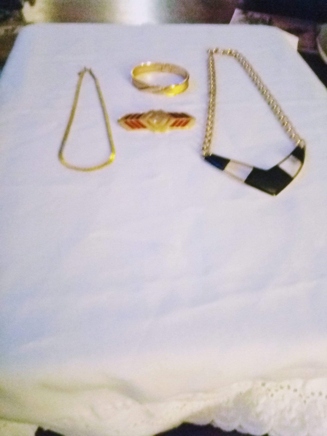 Monet marked gold tone lot - B&P'sringsnthings