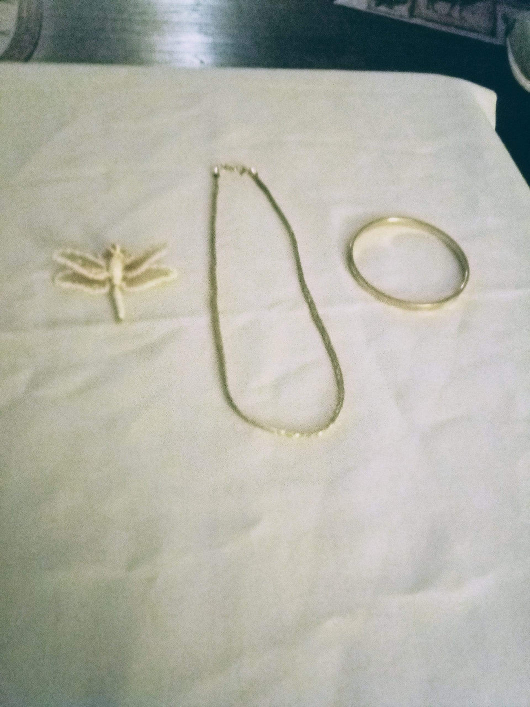 Monet marked three piece lot - B&P'sringsnthings