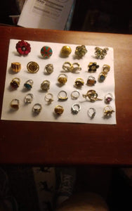 Costume ring lot - B&P'sringsnthings