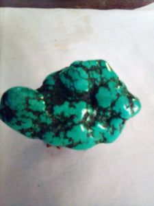 Rough turquoise nice sized stone - B&P'sringsnthings