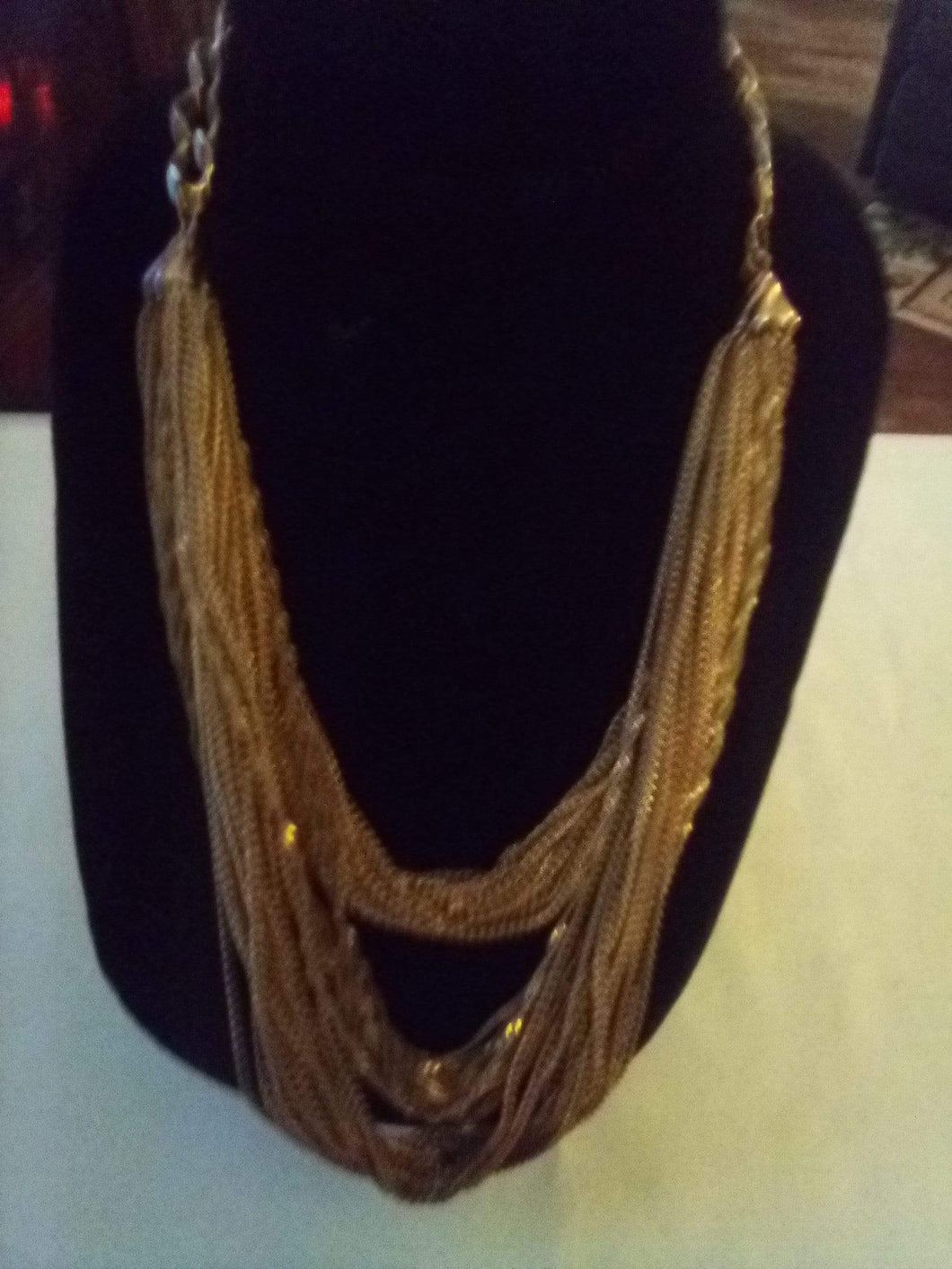 A vintage beautiful layered necklace - B&P'sringsnthings