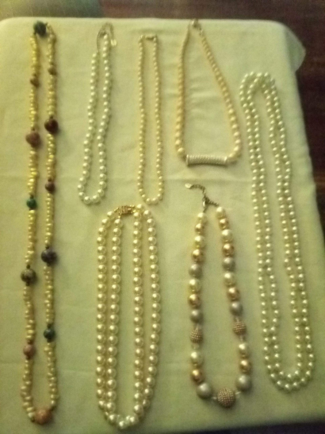 A vintage pearl like nice lot - B&P'sringsnthings