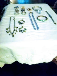 blue jewelry lot - B&P'sringsnthings