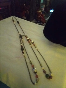 Neat long vintage necklace - B&P'sringsnthings