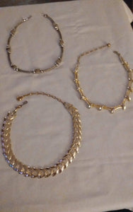 Three dressy necklaces - B&P'sringsnthings
