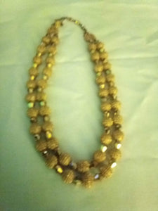 Trifari marked gold tone necklace - B&P'sringsnthings