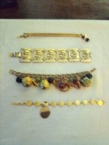 Vintage lot of one of a kind bracelets - B&P'sringsnthings