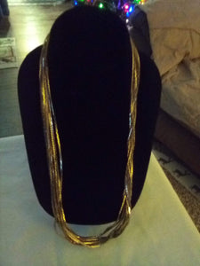 Vintage multi layered necklace - B&P'sringsnthings