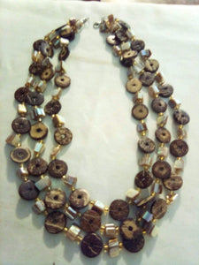 Unusual vintage necklace - B&P'sringsnthings