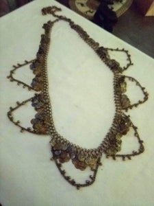 Vintage decorative neat necklace - B&P'sringsnthings
