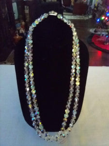 Vintage elegant crystal double tiered necklace - B&P'sringsnthings