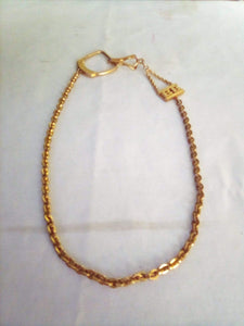 Vintage gold tone necklace - B&P'sringsnthings