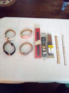 Lot of assorted watch bands - B&P'sringsnthings