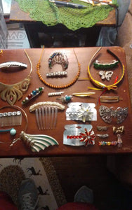 A lot of hair accessories - B&P'sringsnthings