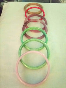 Colorful lot of round bracelets - B&P'sringsnthings