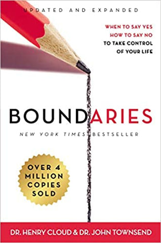 Boundaries By: Dr. Henry Cloud & Dr. John Townsend