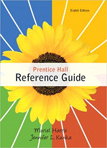 Reference Guide Eighth Edition By: Muriel Harris & Jennifer L. Kunka