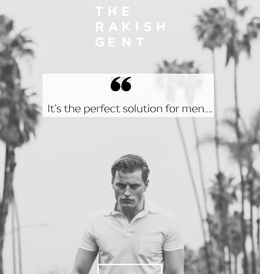 The Rakish Gent meets microneedling OLIVIEREWILSON Microneedling for men