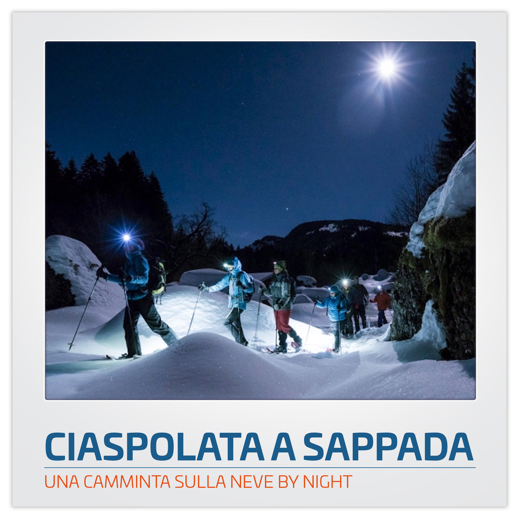 CIASPOLATA A SAPPADA BY NIGHT