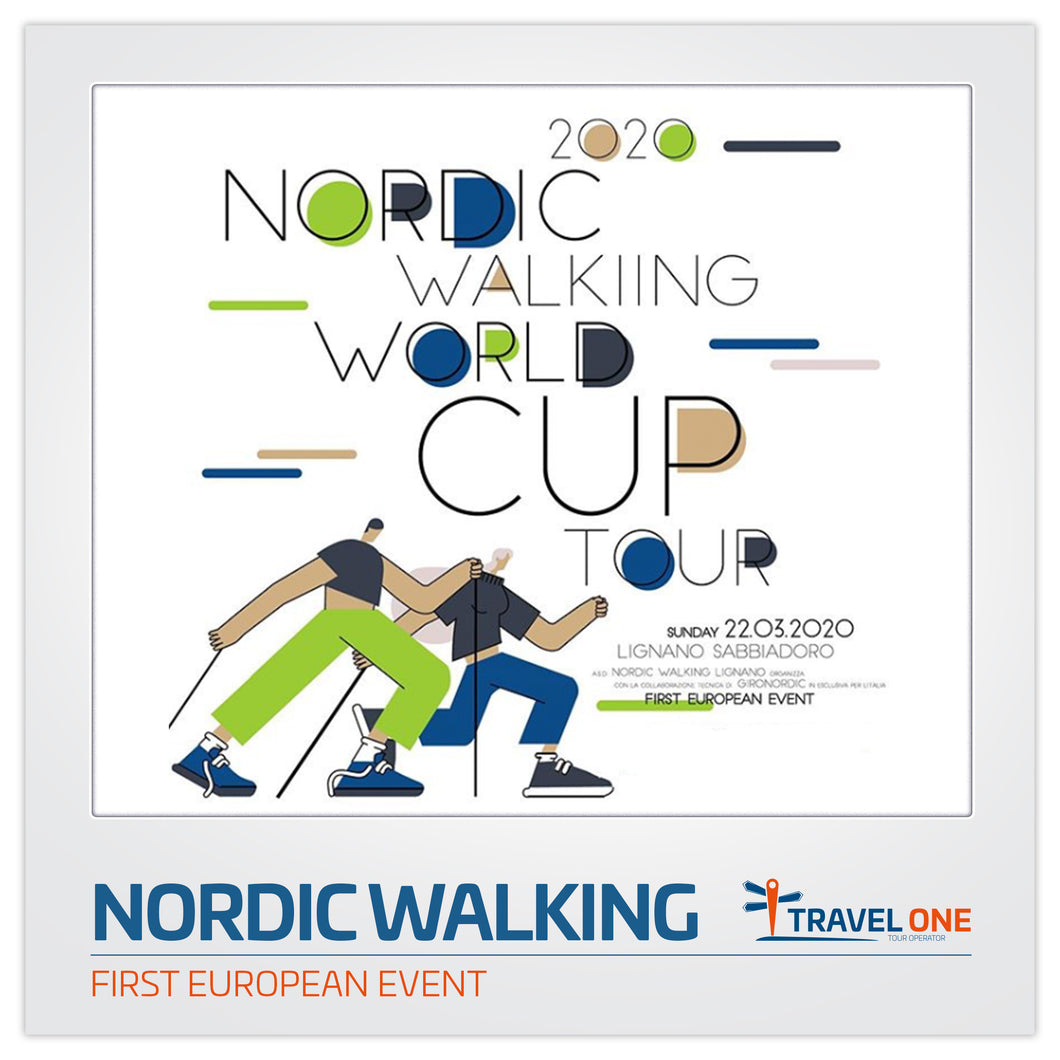 ALLOGGIA CON TRAVEL ONE PER IL NORDIC WALKING TOUR CUP 2020