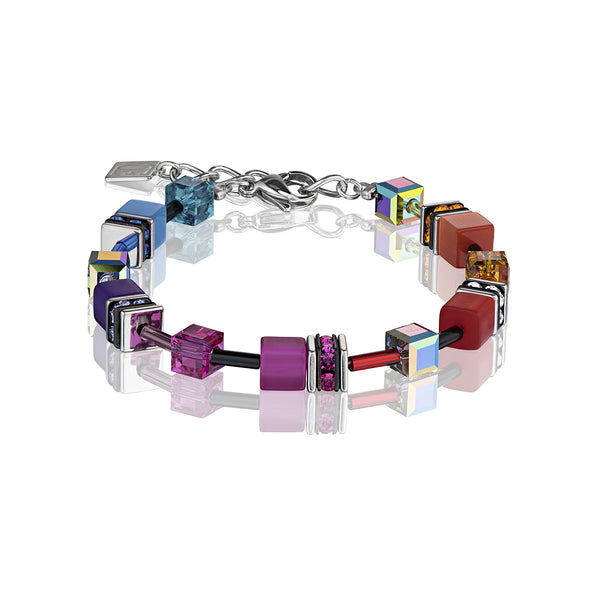 Coeur de Lion Bracelet, Multicolour Rainbow