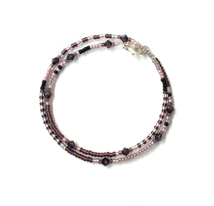 Three Rivers Wrap-around Bracelet Amethyst