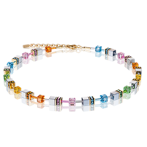 Coeur de Lion Necklace, Multicolour Pastel