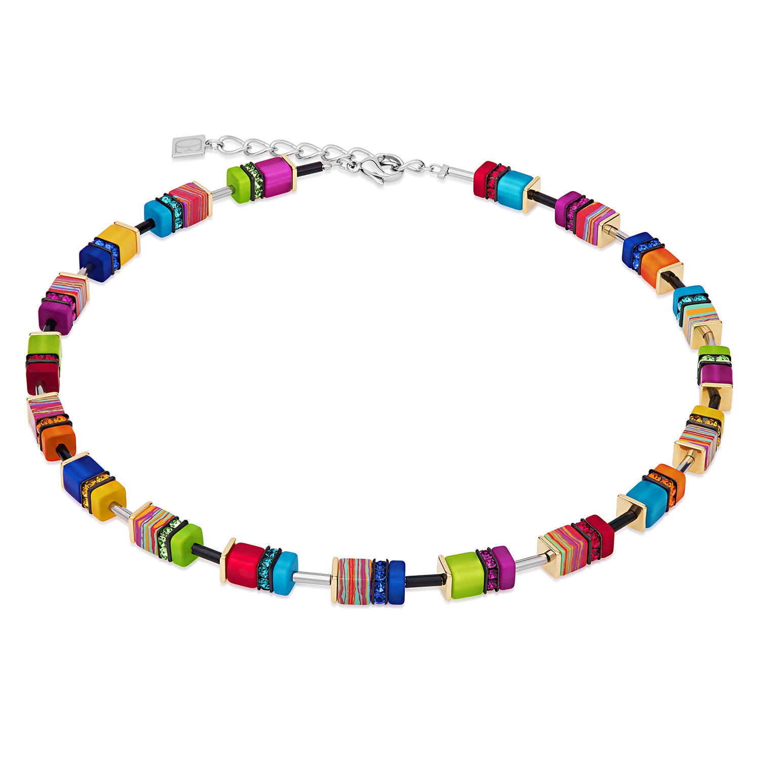 Coeur de Lion Necklace, Multicolour
