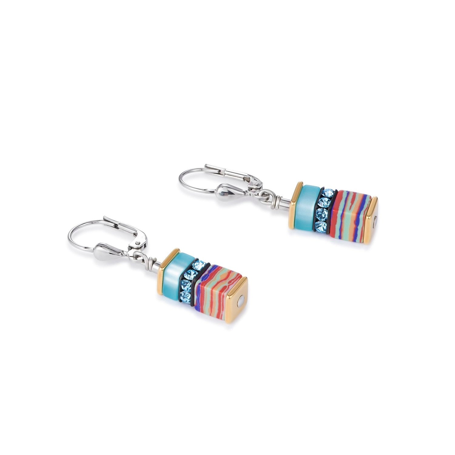 Coeur de Lion Earrings, Multicolour pastel