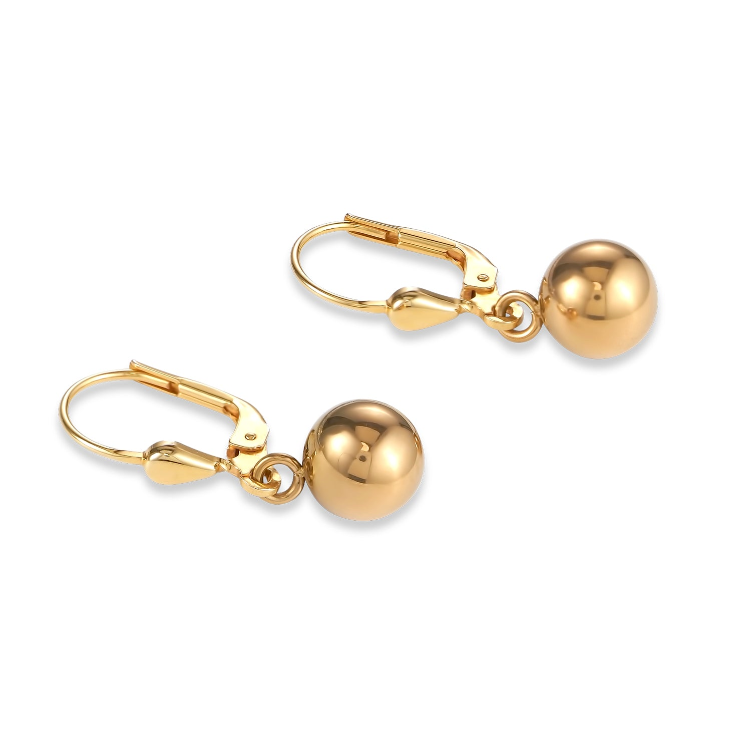 Coeur de Lion Earrings, gold