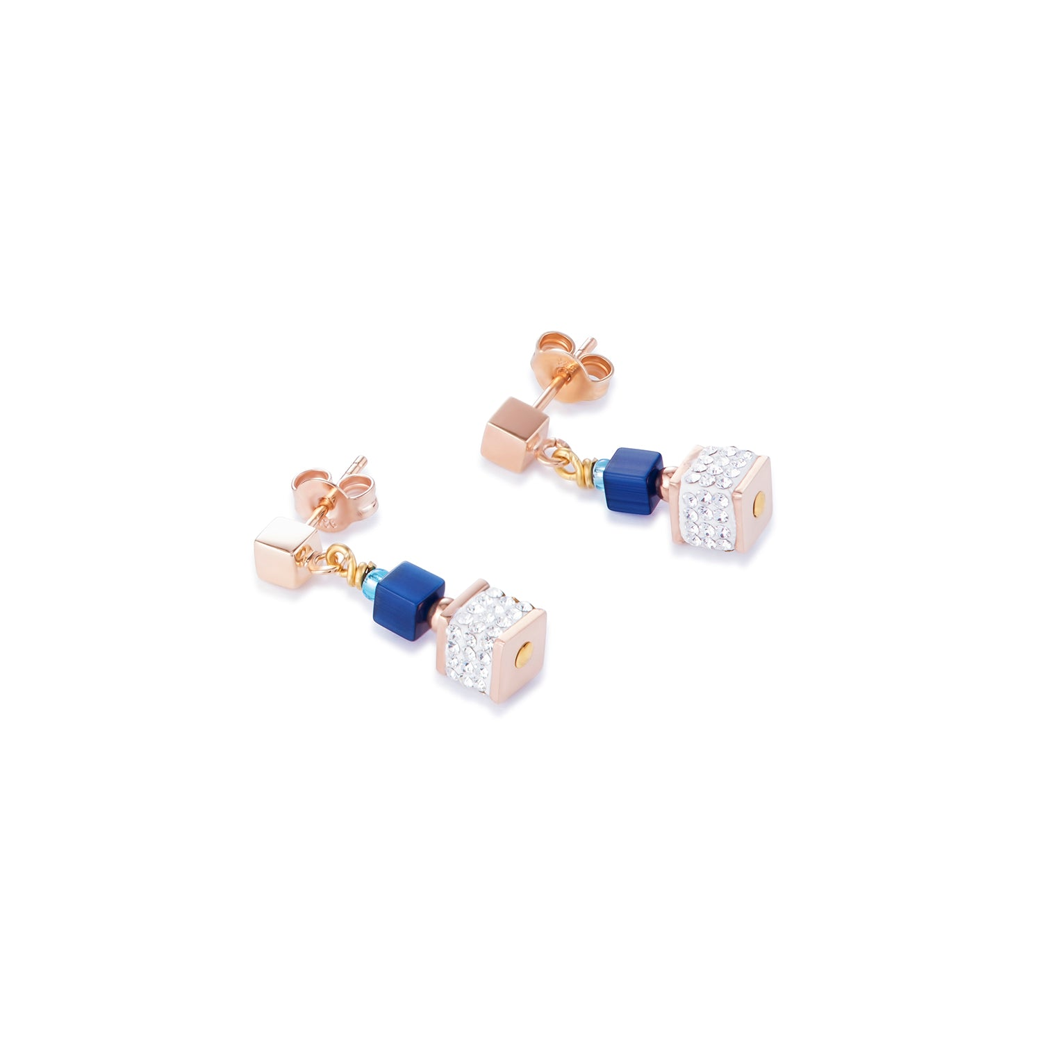 Coeur de Lion Earrings -  Blue