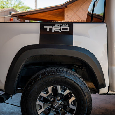 TRD Rear Bed Decal