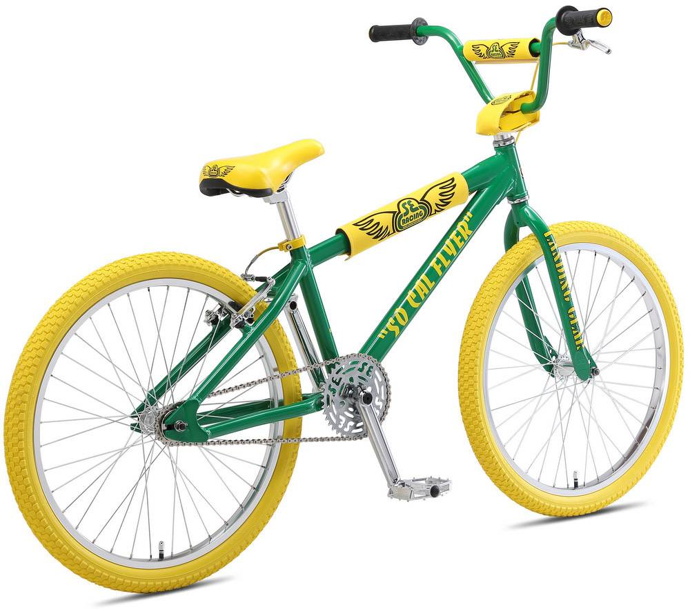 SE Bikes So Cal Flyer 24″ Spring Green