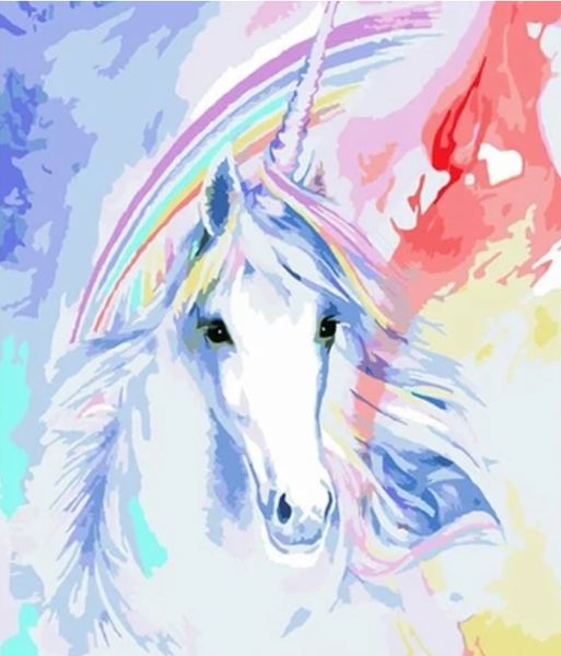 Unicorn Diy Paint By Numbers Kits UK VM95630