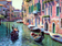 Landscape Boating Venice Diy Paint By Numbers Kits Uk VM00045