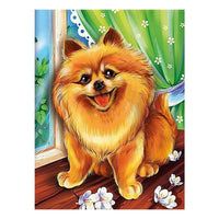 Dog Diy Paint By Numbers Kits UK PBN54154
