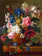 Flower Diy Paint By Numbers Kits Uk VM91560