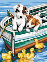 Dog Diy Paint By Numbers Kits UK PBN95857
