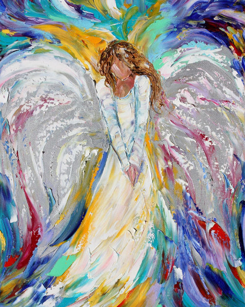 Angel Diy Paint By Numbers Kits UK VM97446
