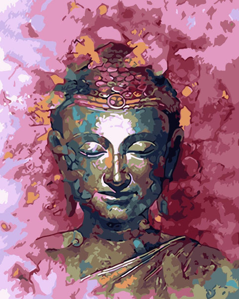 Buddha Diy Paint By Numbers Kits Uk YM-4050-304