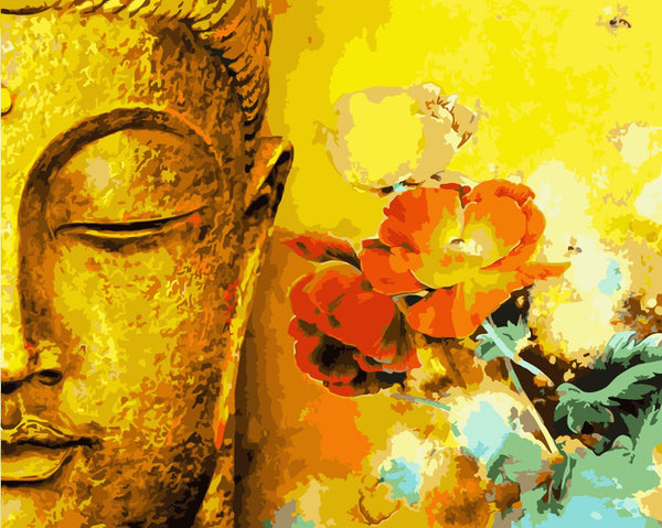Buddha Diy Paint By Numbers Kits Uk WM-329
