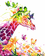 Giraffe Diy Paint By Numbers Kits Uk WM-909