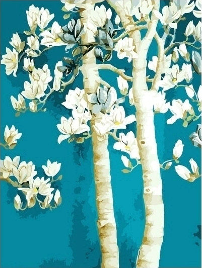 Tree Diy Paint By Numbers Kits Uk YM-4050-162