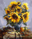 Sunflower Diy Paint By Numbers Kits Uk YM-4050-186
