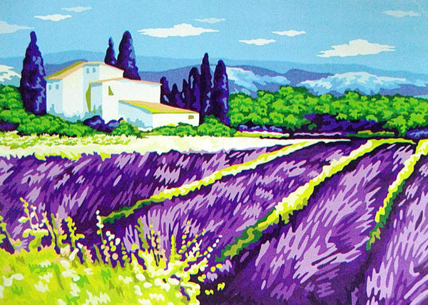 Lavender Sunset Diy Paint By Numbers Kits UK YM-4050-320